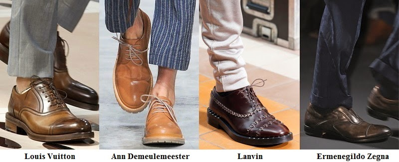 Spring 2014 Men Shoes Fashion Trends