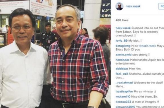 Kisah Pertemuan Nazir Razak dan Shafie Apdal di Sabah