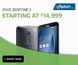 Asus Zenfone 2 Starting at Rs 14,999