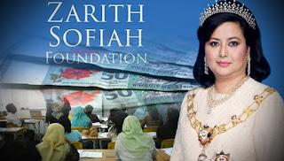Permaisuri Johor ambil inisiatif bantu rakyat Malaysia