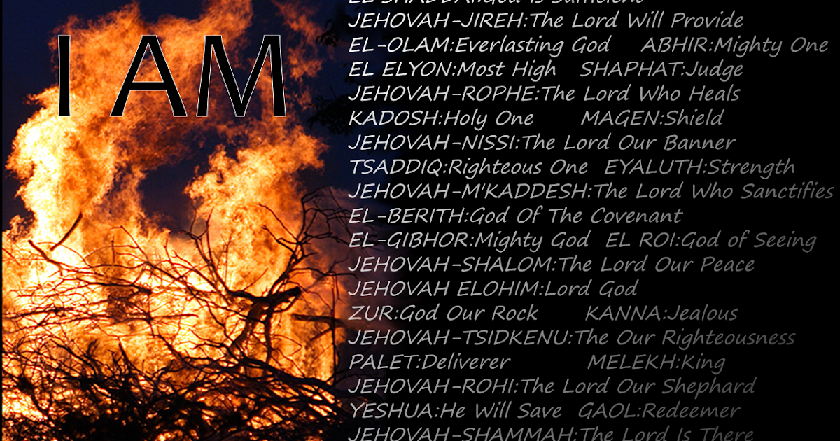 The Christians Haven 60 Names Of God