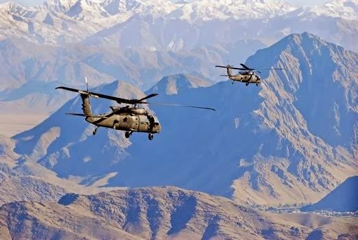 FLYING OVER AFGHANISTAN