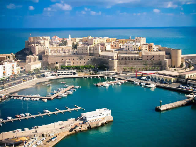 Melilla - Espanha - Spain - coast of the Mediterranean Sea