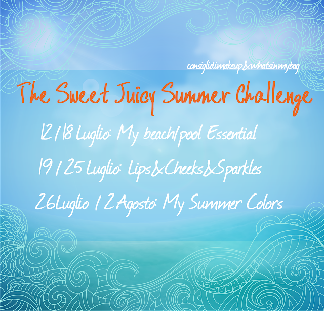 Presentazione The Sweet Juicy Summer Challenge.