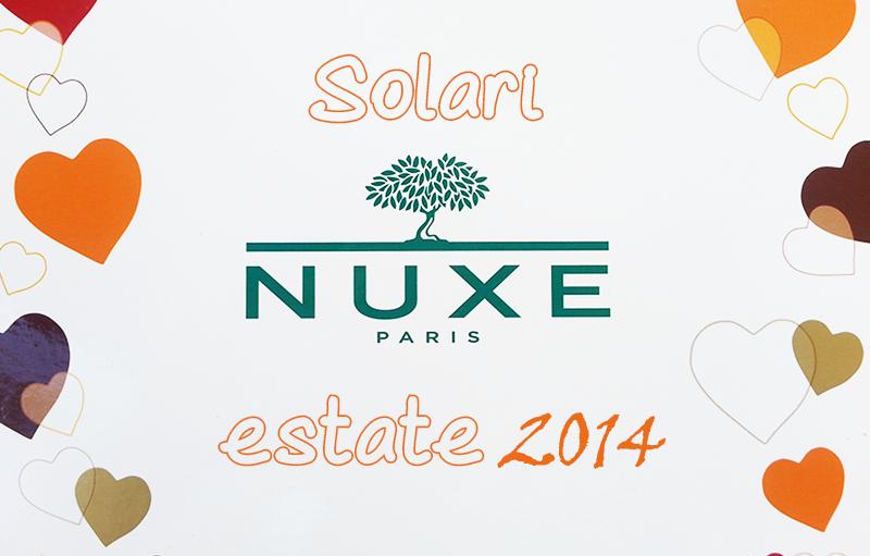 Prodotti Solari Nuxe Sun 2014