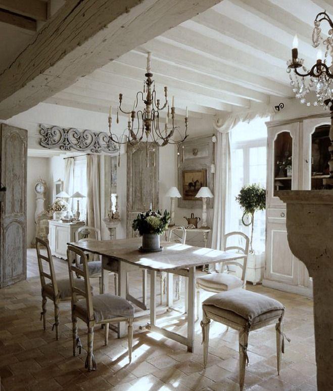 Caroline c massey interiors rustic organic design meets for Salle a manger style shabby chic