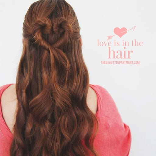 twisted heart hairstyle