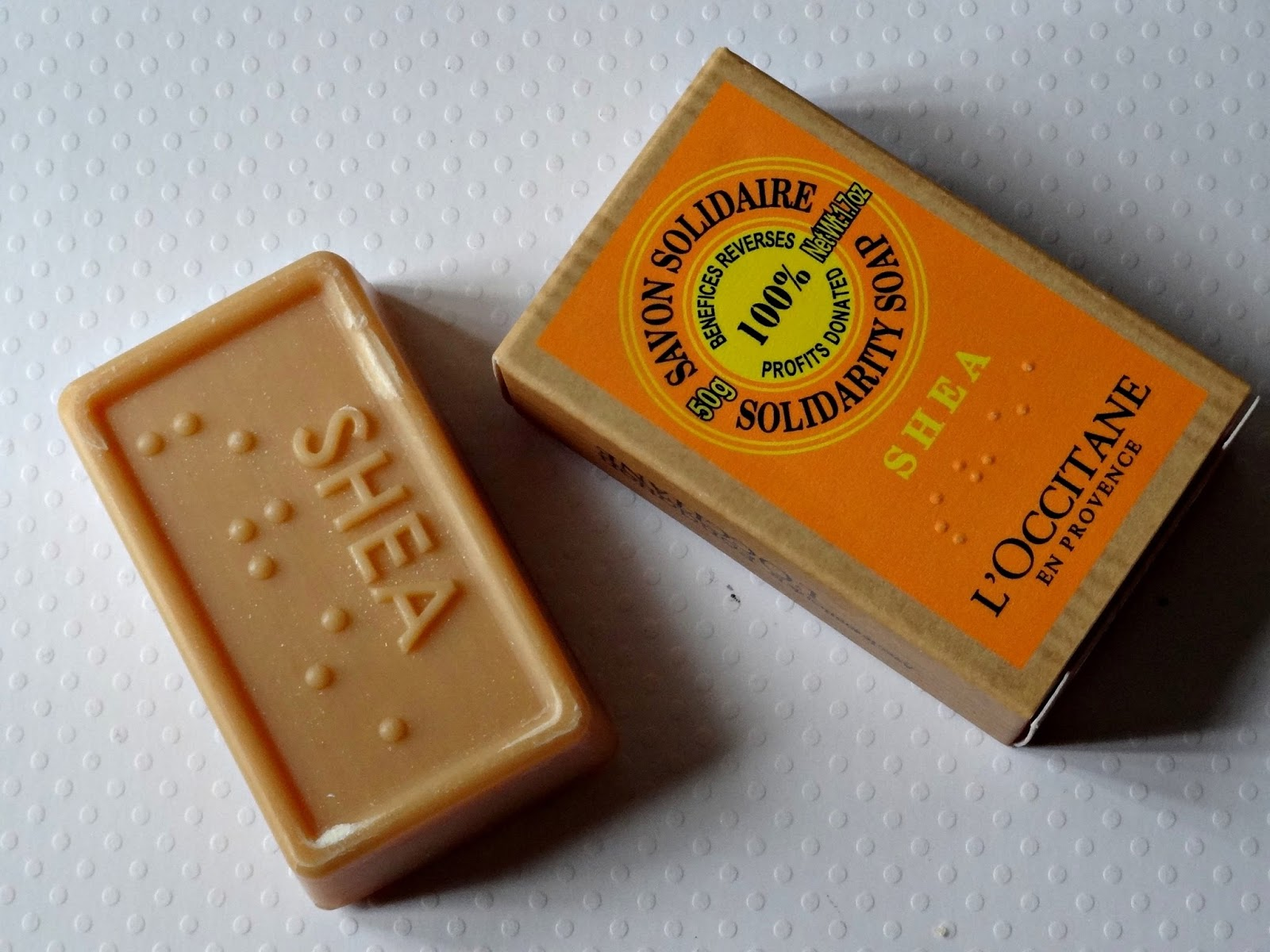 L'Occitane Shea Solidarity Soap Review, Photos