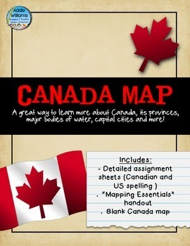 http://www.teacherspayteachers.com/Product/Canada-Map-Assignment-FREE-123487