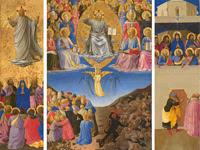 L'exposition Fra Angelico - Fra Angelico, L'Ascension, le Jugement dernier, la Pentecôte, Galleria Nazionale di Palazzo Corsini, Rome, © 2011. Photo Scala, Florence
