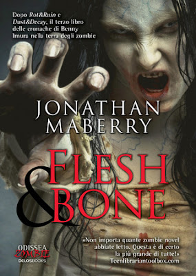 Cover italiana di Flesh & Bone