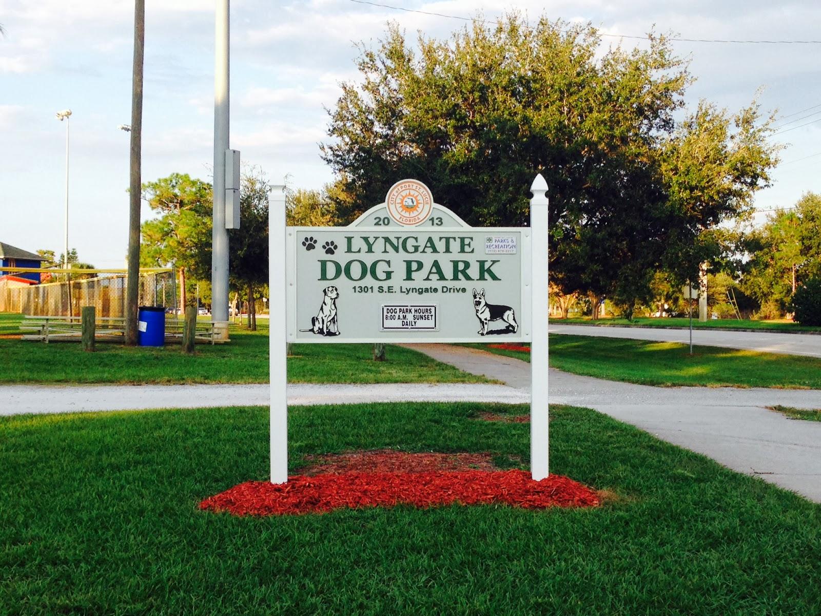 SNEAK PEAK: Lyngate Dog Park Opens Tomorrow | The Treasure Coast ...