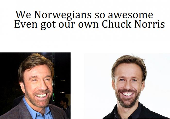 Norwegian Chuck Norris