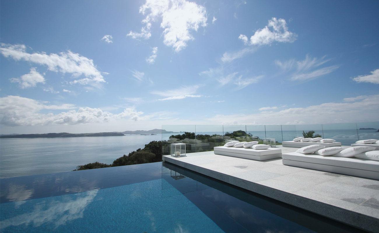 modern interior design infinity pool design at the edge of the infinity pool design at the edge of the sea in ibiza spain