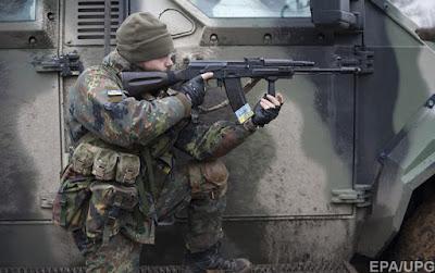 Вчера бойцы АТО отбили атаку диверсионной группы боевиков в составе 10 человек