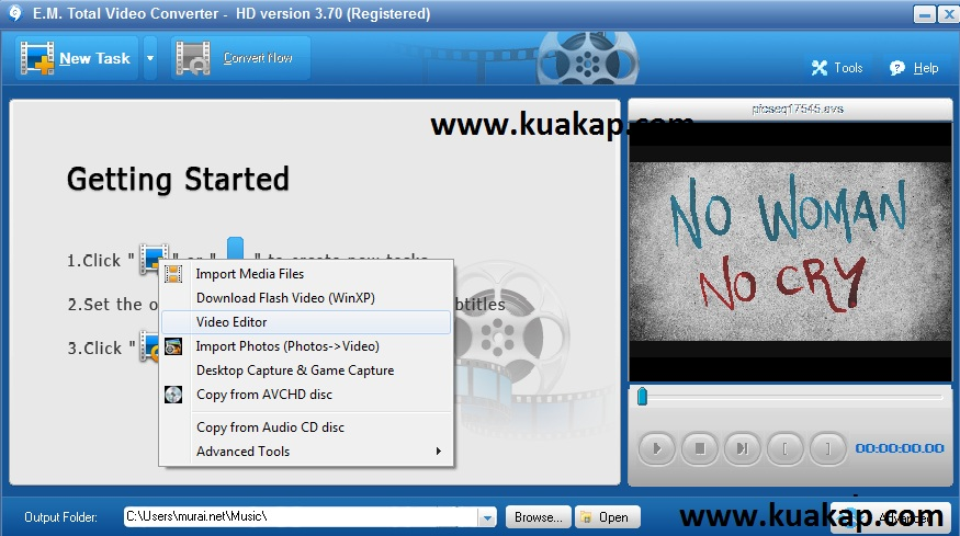 Tutorial Total Video Converter Cara Membuat Video Slideshow Dari Gambar / Foto Dan Ditambah Background Audio / Mp3 Untuk Youtube