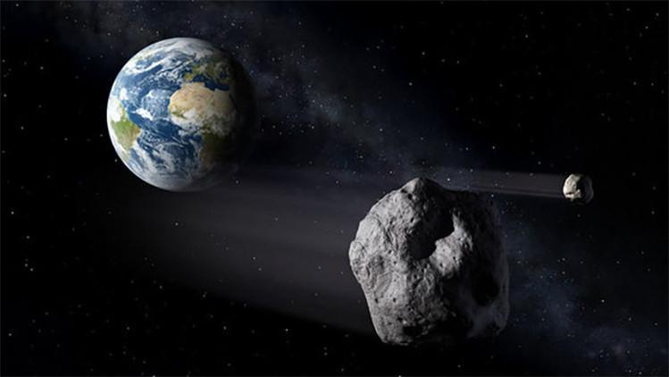 Asteroide gigante peligroso para la tierra.