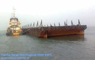Flat Top Barges, Self Propelled, Shallow Water, Pontoon, Barge, India, Coastal, Marine, Engineering, Ships