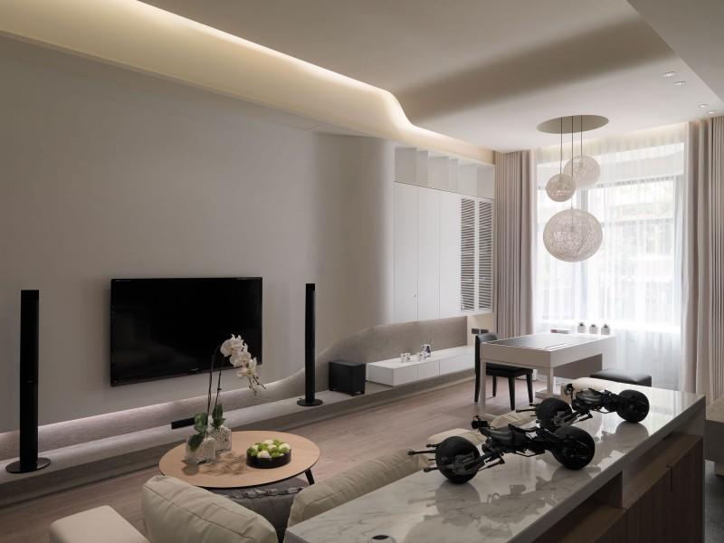 Design interior apartamente 3 camere stil modern bucuresti for Design apartment 2 camere