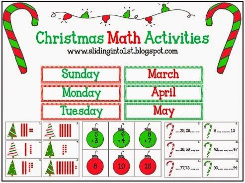 http://www.teacherspayteachers.com/Product/Christmas-Math-Activities-427551