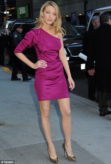 Dress- Pretty in Pink, Blake Lively