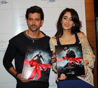 Hrithik Roshan unveils Farah Khan Ali's Krrish 3 Collection