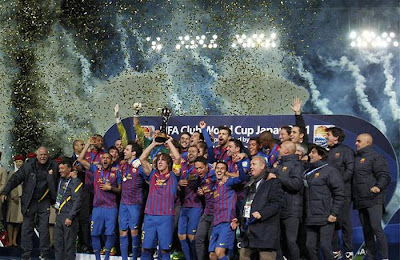 Barcelona 4 - 0 Santos (1)
