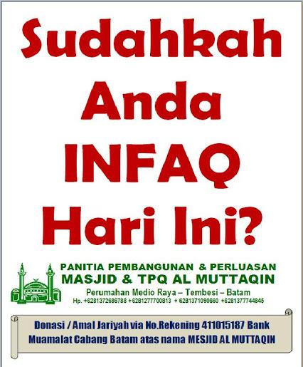 Amal Jariyah Pembangunan Masjid ~ PLEASE DONATE US ~