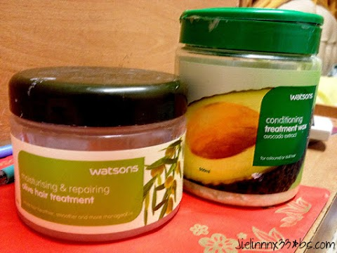 H/M: Watsons Hair Treatments