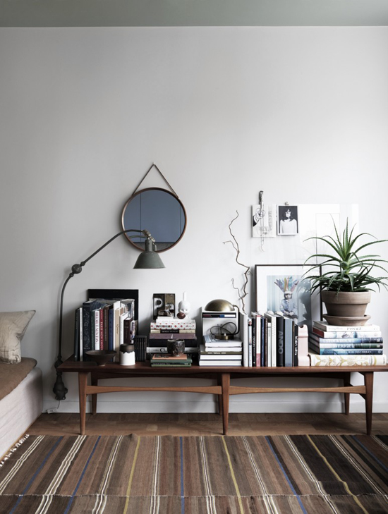 The small apartment of stylist Saša Antić, photo by Jonas Ingerstedt