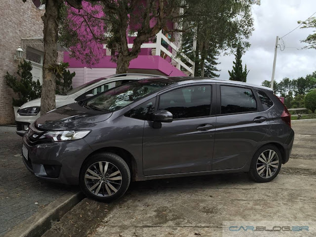 Honda FIT EX 2016 x VW CrossFox I-Motion