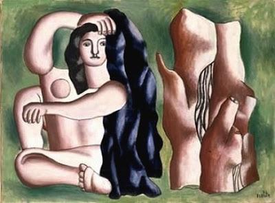 Fernand Léger  - La baigneuse,1932.