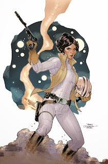 Princess Leia #1 cover Darth Vader Star Wars