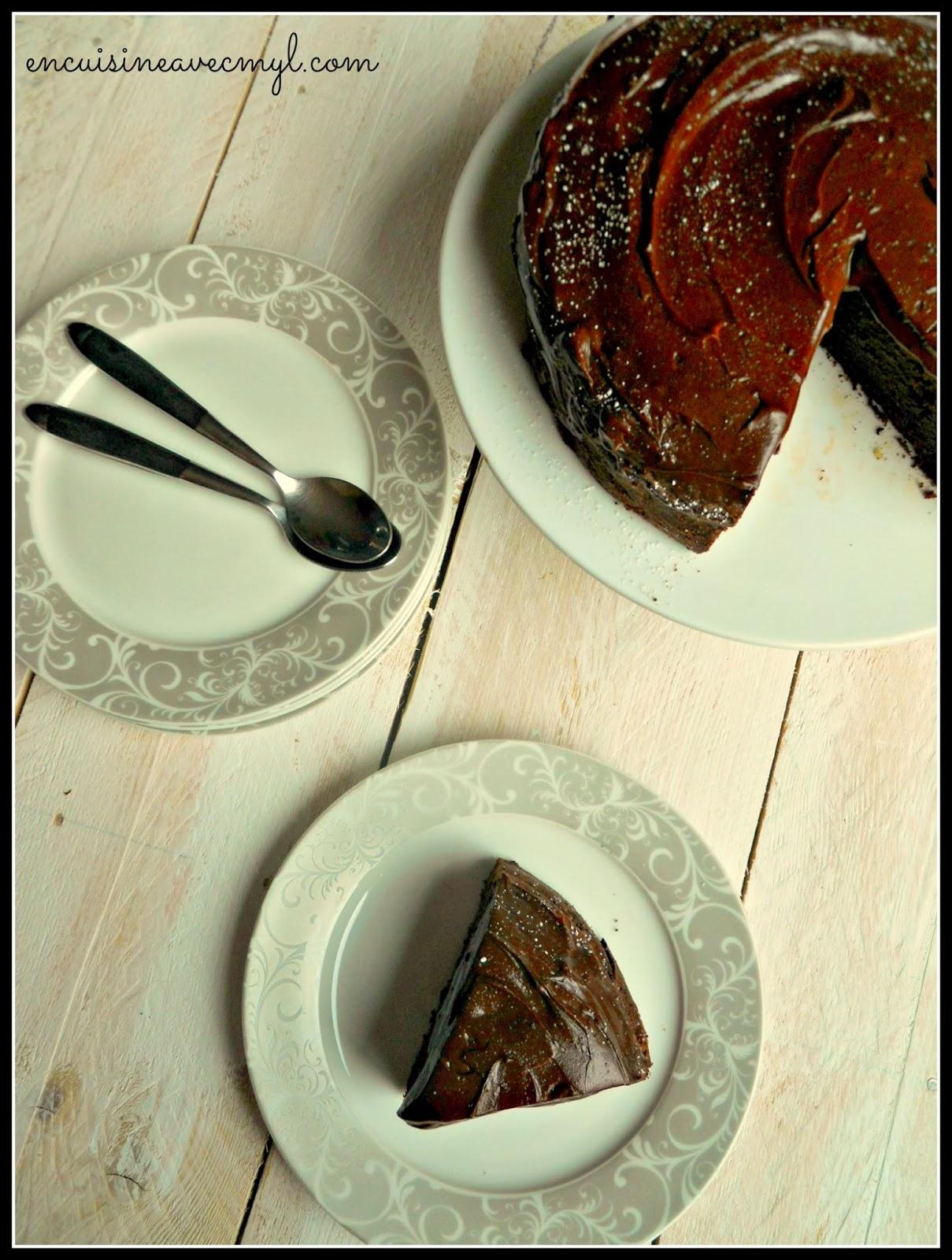 G teau super fondant au chocolat avec une cuisson au bain marie - Cuisson au bain marie ...