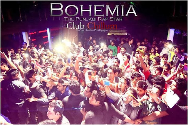 BOHEMIA THE PUNJABI RAP STAR - LIVE CLUB CHILLUM 2