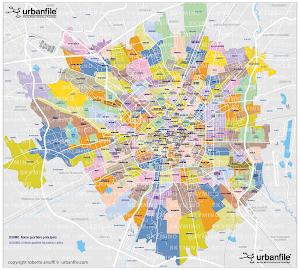 I quartieri di Milano