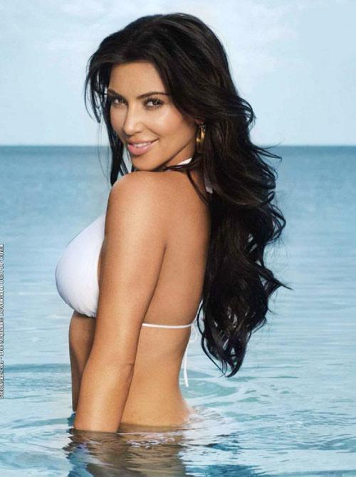 Kim Kardashian  in FHM Magazine