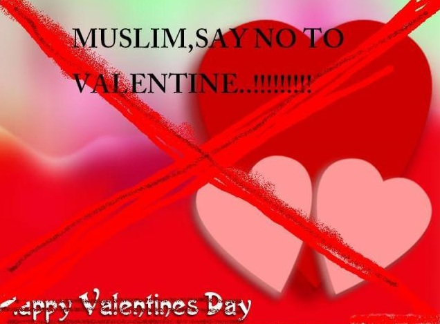 Celebrating Valentine's Day Haram In Islam SMS Messages