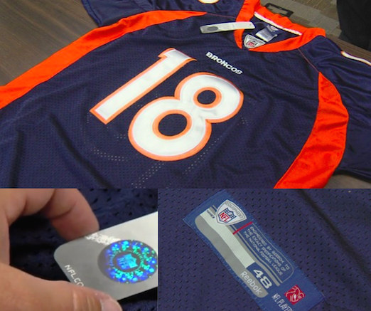 NFL fakes from Fed-led crackdown on counterfeits