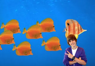 Justin Bieber Posters wallpapers singer salutes all the fans in Classic Follow Fish backgrounds