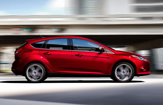 Ford Focus Increases Lead as Best-Selling Vehicle Nameplate