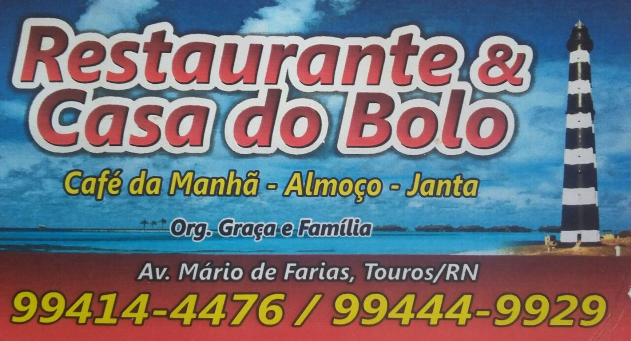 RESTAURANTE E CASA DO BOLO