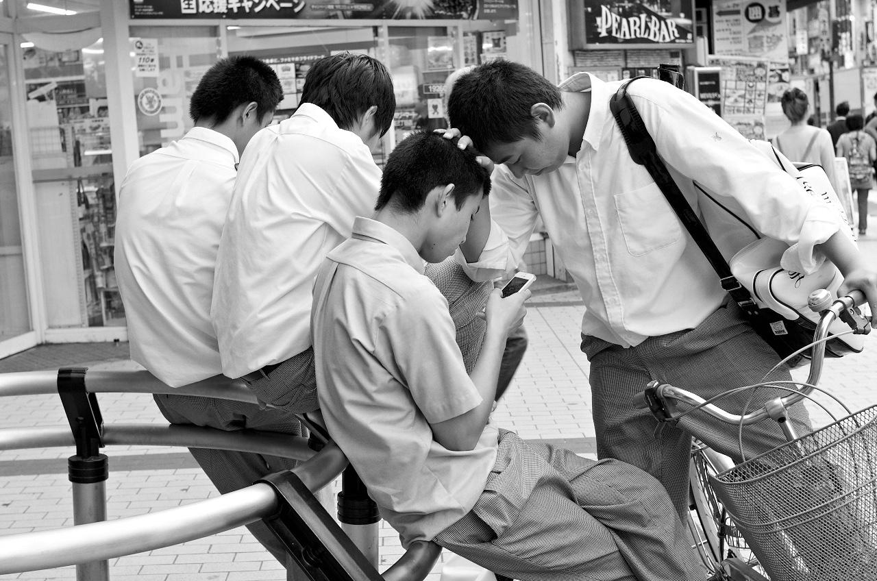 Shinjuku Mad - Past simple, present perfect, future continuous 03