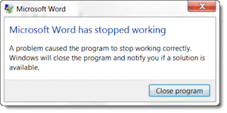 microsoft word error