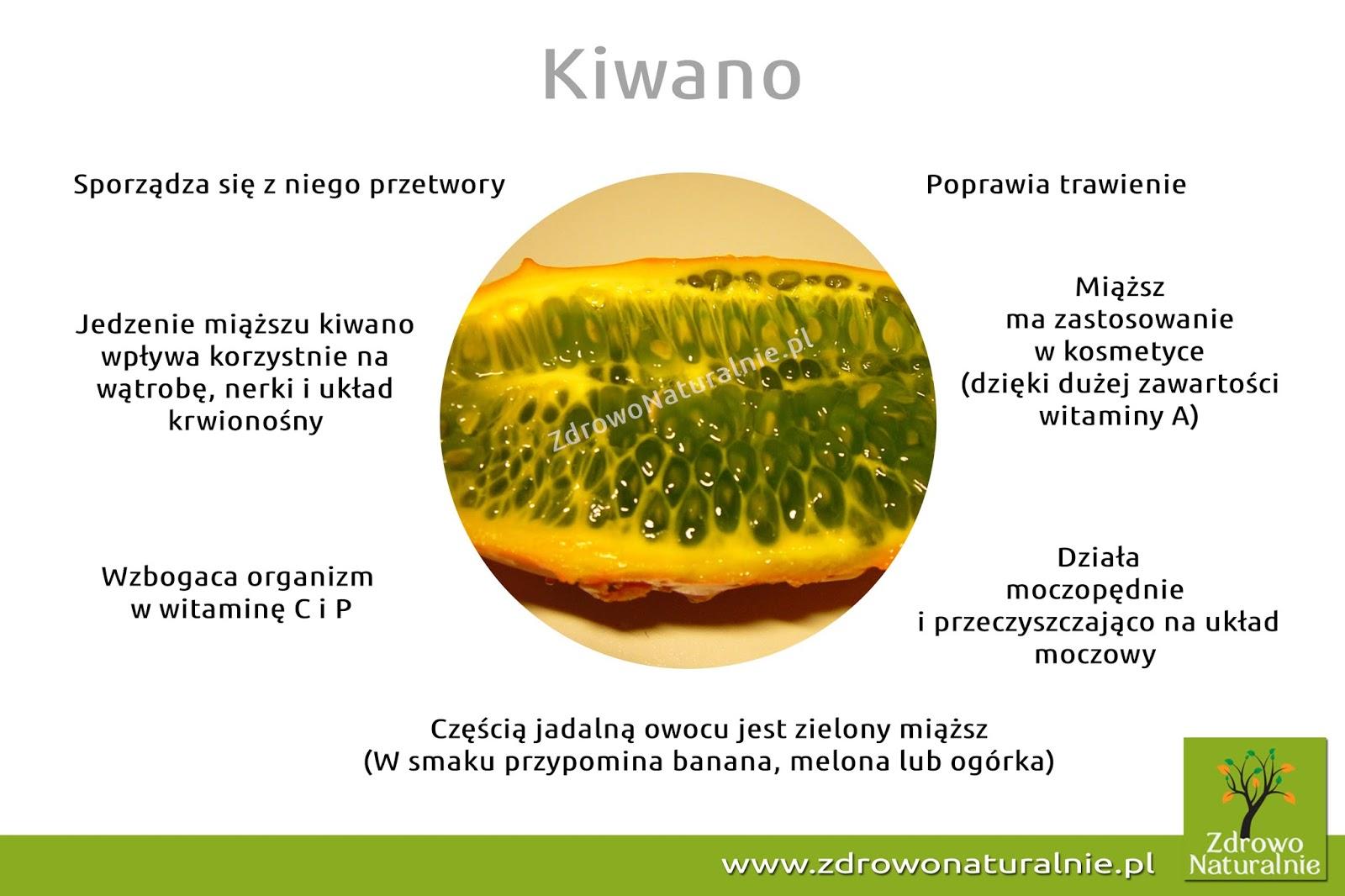 Kiwano - kolczasty ogórek