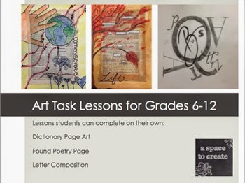 https://www.teacherspayteachers.com/Product/Art-Task-Lessons-for-Grades-6-12-1645153