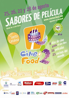 Cartel promocional de la segunda edición de Cine+Food