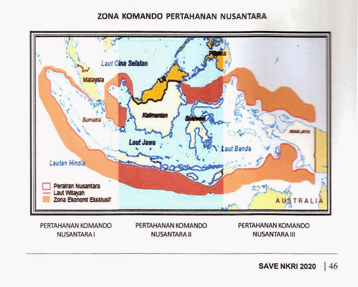 zona komando pertahanan nusantara