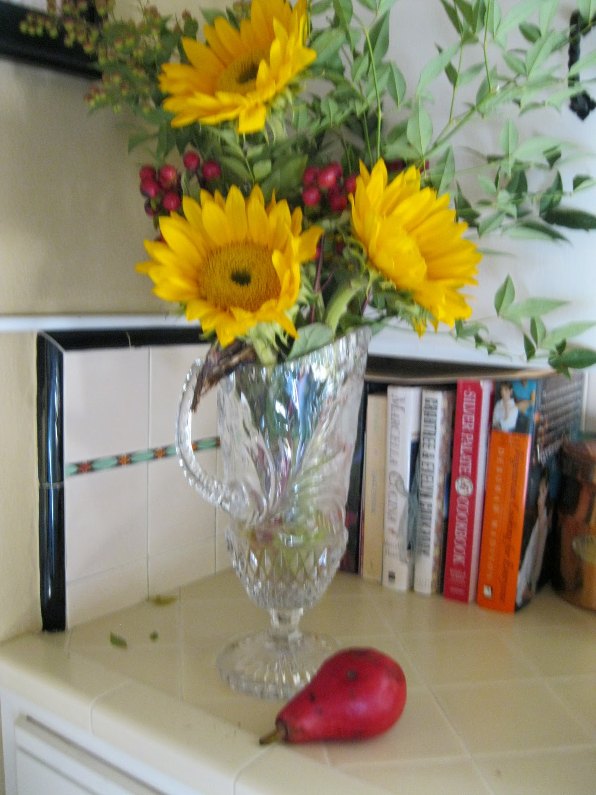 Joy Of Nesting Floral Arrangements With Fall Foliage