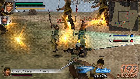 Warriors, The Sony Playstation Portable ISOs / PSP